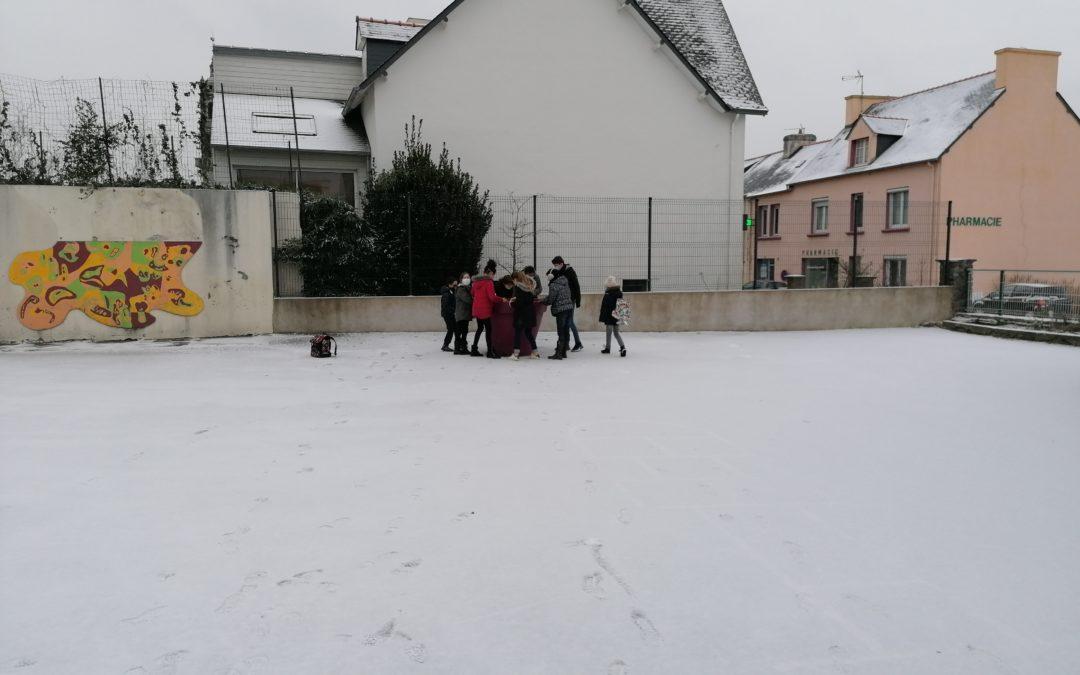 L'hiver à Saint-Joseph